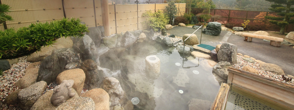 しらさぎ苑 露天風呂